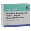 buy Adrenaline 1:1000 (1mg/ml) 10x1ml Ampoules online